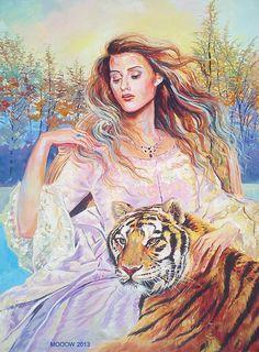 girl_and_tiger_by_mohsensepehri-d63c3n1.jpg (850×1153)
