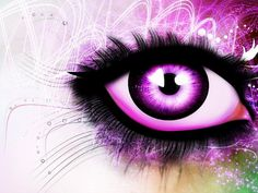 Purple Eyes Wallpaper HD For Desktop Wallpaper Purple Love, All Things Purple, Purple Rain, Shades Of Purple, Purple Stuff, Deep Purple, Magenta, Lilac, Lavender