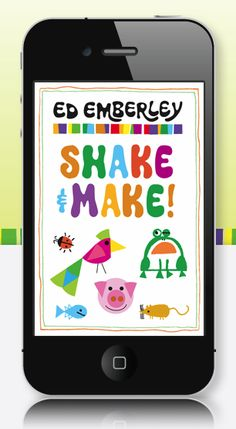 Ed Emberley's Shake & Make app. Great app for the kids on road trips.