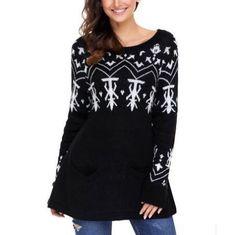 ca6abe2c1f https   www.sweatshirtxy.com christmas-geometric-knit-. Cardigan Sweaters  For WomenCute SweatersCardigans For WomenLadies SweatersSweater ...