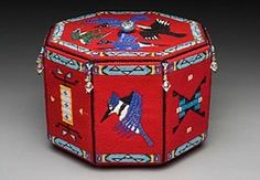 """She Sews a Flight of Fancy"" by Molly Murphy, Oglala Lakota"