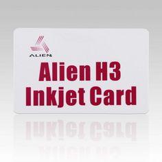 ISO18000-6C UHF  Alien H3 RFID Inkjet PVC Card