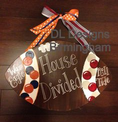 House divided football for any teams by DLDesignsBirmingham, $35.00
