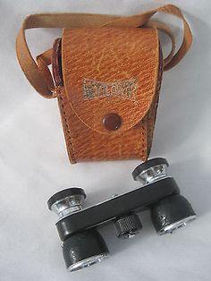 Vintage MAYFLOWER 3X OPERA GLASSES ~ MINIATURE BINOCULARS w/ Case - http://cameras.goshoppins.com/binoculars-telescopes/vintage-mayflower-3x-opera-glasses-miniature-binoculars-w-case/