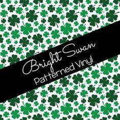 Patterned Vinyl & HTV - St. Patrick's Day - 03 Best Settings, Craft Cutter, Patterned Vinyl, Sheet Sizes, All Brands, Heat Transfer Vinyl, Adhesive Vinyl, St Patricks Day, Cricut