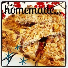 the third boob: mmmmm, mondays: homemade granola bars