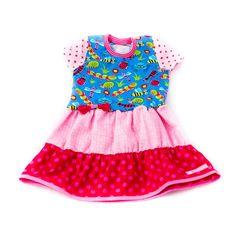 Nähfrosch Abgeändertes Kleid nach Schnittmuster Herbstkombi von Lillesol und Pelle Nähen für Kinder Sewing for Kids