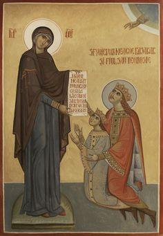 Saint Neagoe Basarab and his son Teodosie Princess Zelda, Faith, Artwork, Fictional Characters, Religion, Work Of Art, Loyalty, Believe