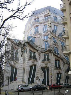 Unusual Building in Paris by Chrisibee, via Flickr