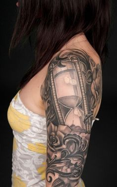 time tattoo designs - Google Search