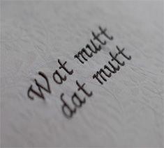 plattdeutscher Spruch gestickt
