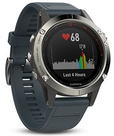 Garmin Fenix 5X Sapphire - Slate Gray with Metal Band - INTERNET SECURITY SMART HOME SHOP