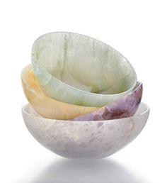 Our luxurious bowls are individually hand-crafted from semi-precious gemstones. Since ancient times, semi-precious stone bowls like ours have been prized for both their magical and aesthetic properties. These pieces are crafted by artisans, trained from g Stone Bowl, Home Living, Semi Precious Gemstones, Kitchen Gadgets, Kitchen Items, Kitchen Utensils, Dinnerware, Home Accessories, Decorative Bowls