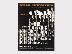 «Stile Industria» No. 23, Editoriale Domus, Milano, 1959. Cover Design: Franco Grignani