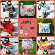 "Laufradtasche, Lenkertasche, Tasche Laufrad nähen I TI NAht: Anleitung Lenkertasche ""Ferdy"""