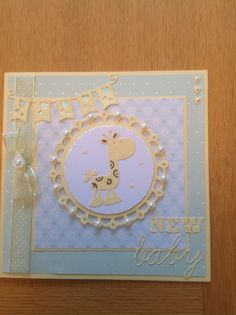 New bay card tattered lace