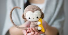 Patterns, Crochet monkey and Crochet on Pinterest