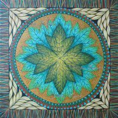 Mandala Hoja