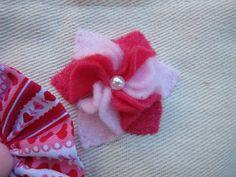 Oksana Plus Hobbies: Felt Flower Tutorial (Цветок из фетра)