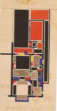 theo van doesburg ensemble d'habitation drachten bat2 1921