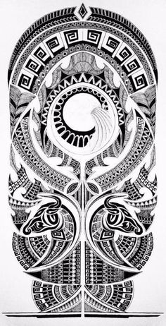 Look at these spectacular templates of arm tattoos and cheer up immo … - maori tattoos
