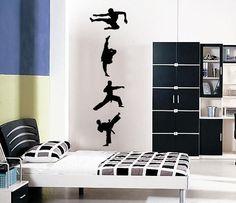 Vinyl Wall Sticker Decal Art Karate Kid by urbanwalls on Etsy, $39.00