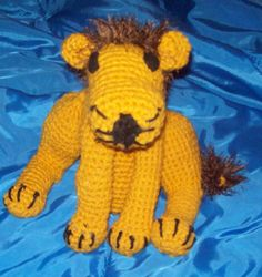 Lion Large Amigurumi Stuffed Animal   Leo Toy by amydscrochet, $15.75 #pcfteam