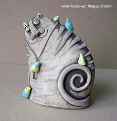 JT McMaster Artisanal ceramics - Custom and opensource ceramic transfers Ceramic Clay, Ceramic Pottery, Pottery Art, Ceramic Animals, Clay Animals, Ceramics Projects, Clay Projects, Clay Cats, Pottery Handbuilding