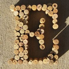 Cork Letter Decor