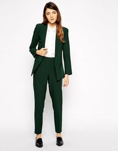 Fashionable ladies suit Turquoise Ladies Formal Pant Suits for Weddings Womens Business Suits Blazer Business Outfit Frau, Business Outfits, Business Attire, Office Outfits, Stylish Outfits, Office Fashion, Work Fashion, Formal Pant Suits, Suits For Women
