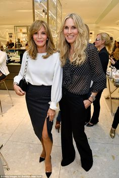 Another beauty: Here Jaclyn Smith is seen with Farrah's longtime friend Alana Stewart. May 2017