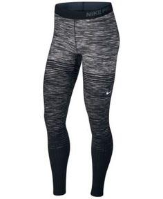 6fb7bd2a25 Nike Pro HyperWarm Fleece-Lined Stirrup Leggings & Reviews - Pants & Capris  - Women - Macy's