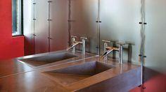WaterBridge Designer Faucets | Waterfall Spout, Deck Mount