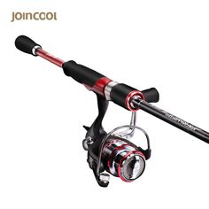 ceafec65e92 Joincool CAMILLE spinning Lure Rod Combo Set 40T Carbon with 9 1BB Spinning  Reel 5 3