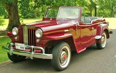 Despite a 3-year production run from 1948-1950, the Jeepster never caught