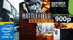 Battlefield  Hardline | i5 4690 | 8GB RAM | GTX 750 ti | 900p
