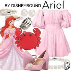 DisneyBound is meant to be inspiration for you to pull together your own outfits which work for your body and wallet whether from your closet or local mall. As to Disney artwork/properties: ©Disney Disney Inspired Dresses, Princess Inspired Outfits, Disney Princess Outfits, Disney Dress Up, Disney Inspired Fashion, Disney Fashion, Disney Bound Outfits Casual, Cute Disney Outfits, Disney Themed Outfits