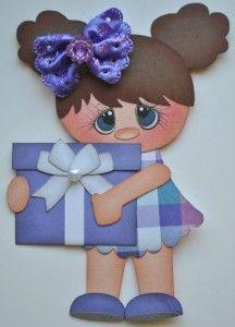 paper piecing birthday | Details about ELITE4U BIRTHDAY GIRLS paper piecing premade scrapbook ...
