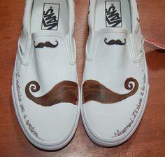 Mustache Vans