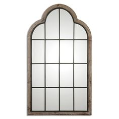 This Impressive, Oversized Arch Mirror Is Made Of Lightly Burnished, Reclaimed Pine With A Gray Wash And Wrought Iron Details.Lightly Burnished Reclaimed Pine With A Gray Wash And Wrought Iron Details. Floor Mirror, Rustic Wall Mirrors, Mirror Design Wall, Mirror Wall Living Room, Gray Mirror, Rustic Lodge, Arched Windows, Large Wall Mirror, Arch Mirror