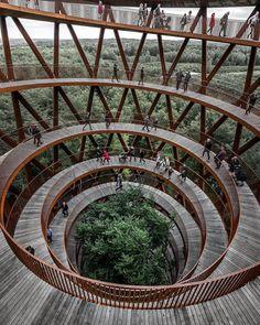 Archi Design, Architect Design, Stunning View, Beautiful, Art Et Architecture, Amazing Architecture, Destinations, Forest Design, Sweet Home