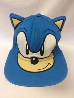 Able Cute Boy Sonic The Hedgehog Cartoon Youth Adjustable Baseball Hat Cap Blue For Boys Hot Selling Customers First Kleidung & Accessoires