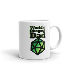 A DnD mug for geeky dads!  #dungeonsanddragons