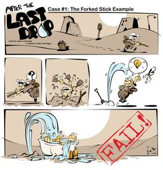 """""""After The Last Drop"""" first place at the Comic Strip contest by Coca-Cola Hellas"""