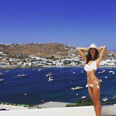 Good morning sunshine! Supermodel and Designer Alessandra Ambrosio enjoying her family #summer holiday at our stunning #resort