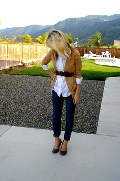 Fall! Love this outfit!
