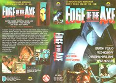 """Here is a nostalgic image of a Dutch (EU) PAL VHS sleeve for """"Edge of the Axe"""" (Spain (EU) and America co-production, from the ditstributor of New World films in Spain (EU), 1988)  Link: https://www.youtube.com/watch?v=0B0tVlepprQ&gl=SE  #Swedes #Mumblecore #Slasher #Zmovies #Bmovies #Kauhu #Horror #Axes #Killers #Crime #PAL #MarkRutte #Indie #Scandinoir #Brexit #Covfefe #Drumpf #JackoffJill #Lo #Lynxes #Heathers #WinonaRyder #Lynx #Lodjur #GE2017 #Corbyn #Brexshit #DieSims2 #Sims #Maxis…"""
