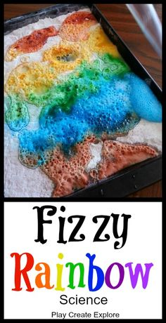I like this as a simple science activity and a way to talk about color with preKs. Plus it's just a fun activity for all the senses.