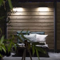 Luminaire Mural, Evo, Decoration, Entryway Bench, Blinds, Patio, Curtains, Dark, Furniture