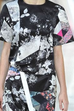 patternprints journal: PRINTS, PATTERNS AND DETAILS FROM S/S 14 WOMENSWEAR COLLECTIONS, LONDON FASHION WEEK / 8